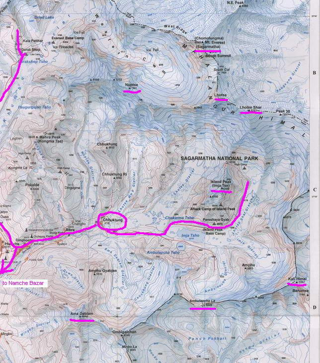 map of everest area 2